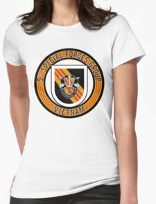 5th Special Forces Vietnam rd Womens Fitted T-Shirt