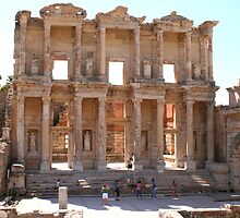 Library of Celsus by Laurel Talabere