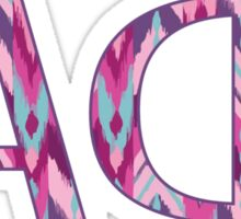 ΑΦ Tribal Letters Sticker
