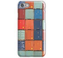 Rotterdam Harbour - Containers iPhone Case/Skin
