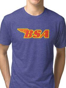 BSA Motorcycle Shirt Tri-blend T-Shirt