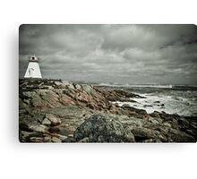 Sandy Point Lighthouse Canvas Print