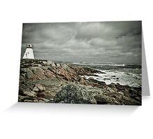 Sandy Point Lighthouse Greeting Card
