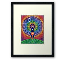 Goddess of the World Framed Print