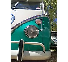 low volkswagen bus  Photographic Print