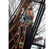 HMS Victory Figurehead Photographic Print