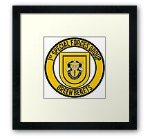 1st Special Forces Group Framed Print