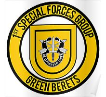 1st Special Forces Group Poster