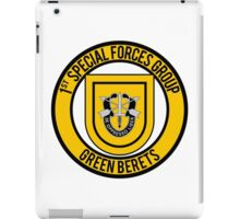 1st Special Forces Group iPad Case/Skin