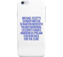 The Office- Fun Run iPhone Case/Skin