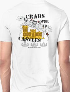 Crabs over Castles Unisex T-Shirt