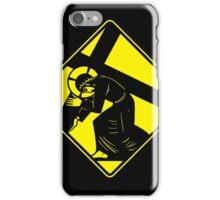 Jesus on a Crosswalk  iPhone Case/Skin