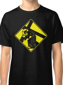 Jesus on a Crosswalk  Classic T-Shirt