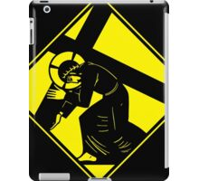 Jesus on a Crosswalk  iPad Case/Skin
