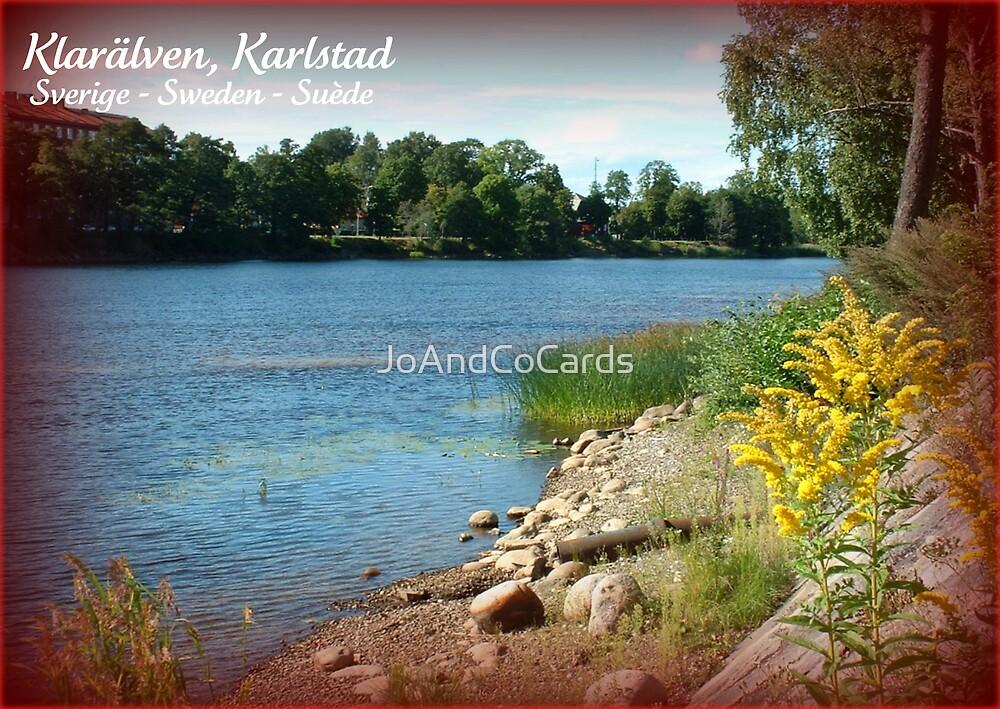 Klarälven, Karlstad by JoAndCoCards