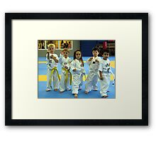 look out...... Framed Print