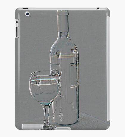 Wine in relief iPad Case/Skin