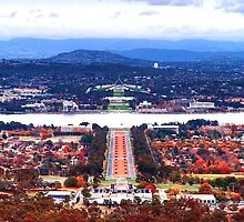 Heart Of Canberra by aureecejustin