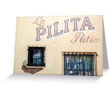 La Pilita Greeting Card
