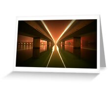Light Lines Greeting Card