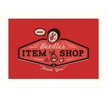 Beedle's Item Shop Art Print