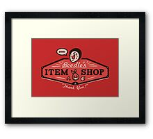 Beedle's Item Shop Framed Print