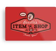Beedle's Item Shop Metal Print