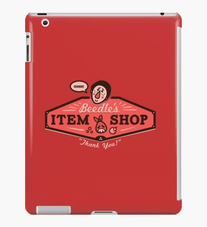 Beedle's Item Shop iPad Case/Skin