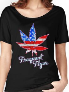 Frequent Flyer! Women's Relaxed Fit T-Shirt