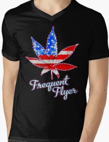 Frequent Flyer! Mens V-Neck T-Shirt