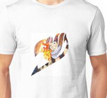 Fairy Tail Logo- Natsu Unisex T-Shirt