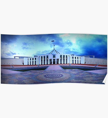 Parliament Clouds Poster