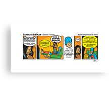 Chewin' The Fat - Captain RibMan Canvas Print