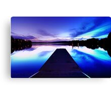 Road To Inspiration Canvas Print