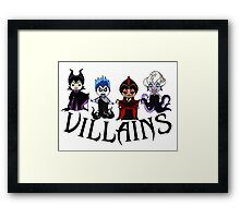 Disney Villains  Framed Print