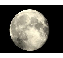 Earth,s full moon  Photographic Print