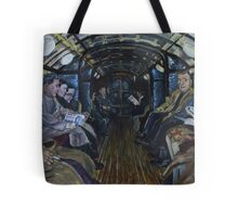 Glasgow Subway Commuters Tote Bag