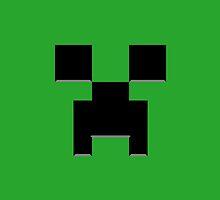 Creeper Face by quarksbar