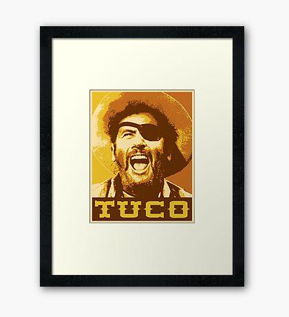 Tuco Framed Print