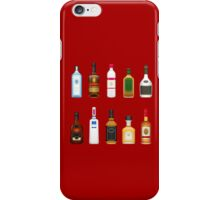 Alcohol Pattern iPhone Case/Skin