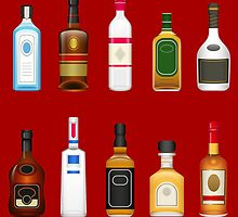 Alcohol Pattern by KingdomofArt