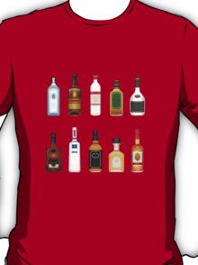 Alcohol Pattern T-Shirt