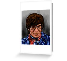 AUSTIN POWERS...YEAH BABY! Greeting Card
