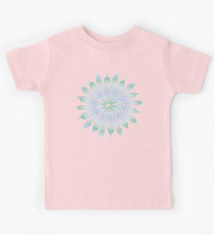 Feather Flower: Frost Burst Kids Tee
