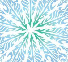 Feather Flower: Frost Burst Sticker