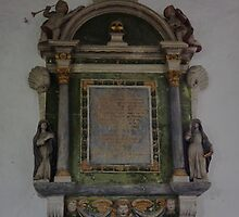 Memorial in St Nectan's Church by Patrick Noble