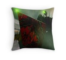 Surely A Bad Sign II/II Throw Pillow
