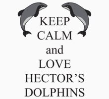 Keep calm and love Hector's dolphins by rainbowcho