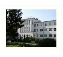 University of Physical Education in Warsaw, Poland Art Print