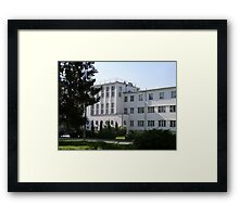 University of Physical Education in Warsaw, Poland Framed Print